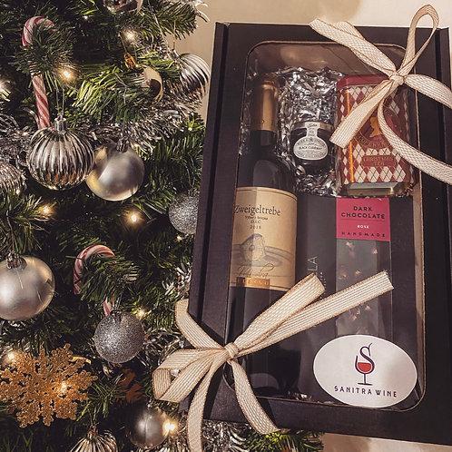 Wine & Treats gift box