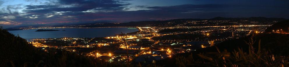 lowerhutt night view