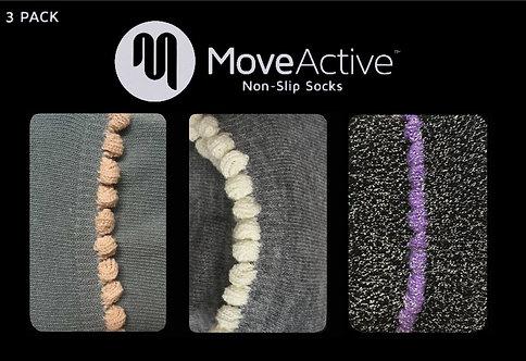 "MoveActive Non-Slip Socks - Gift Box ""Pom Poms"""