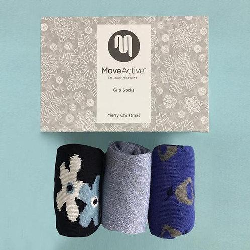 """Christmas Gift Box """"Dasher & Dancer"""""""