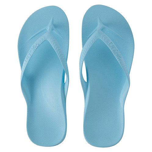 Sky Blue Archies Thongs