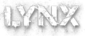 LYNX text in font_edited.png