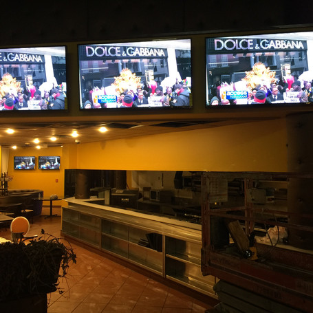 Installed 42 Monitors for Sports Bar.