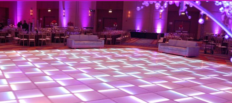 Lighted Dance Floor