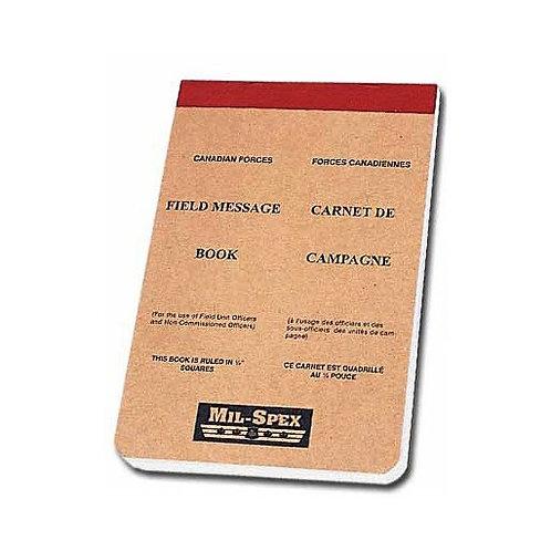 Field Message Book