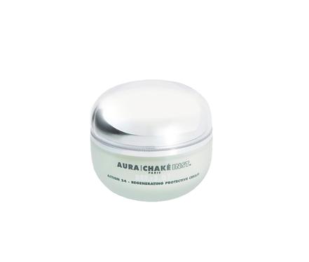 """Крем """"Активность 24"""" для лица, 50 мл Regenerating Protective Cream Aura Chake"""