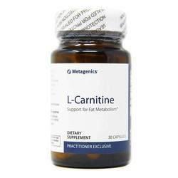L-Карнитин L-Carnitine, 30 таб Metagenics