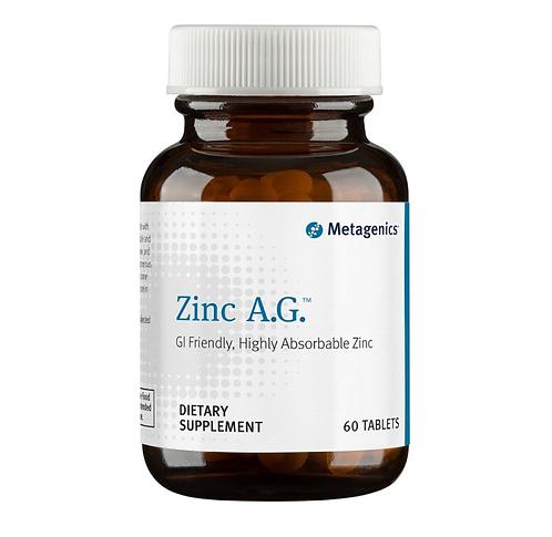 Цинк А.Г. Zinc A.G., 60 таб Metagenics