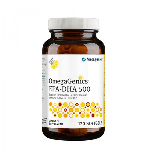 ОмегаДженикс ЭПК-ДГК500 OmegaGenics EPA-DHA 500, 120 капсMetagenics