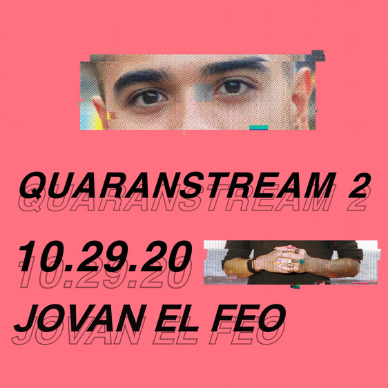 Quaranstream Session 2: 10/29/20