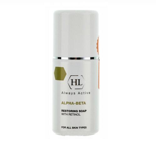Обновляющее мыло 125 мл ALPHA-BETA & RETINOL Restoring Soap Holyland