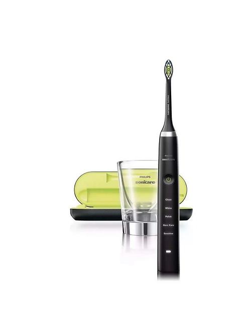 Электрическая зубная щетка Sonicare DiamondClean Black Philips