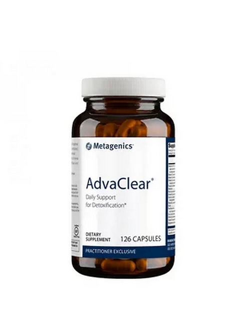 Адва Клир AdvaClear, 126 капс Metagenics