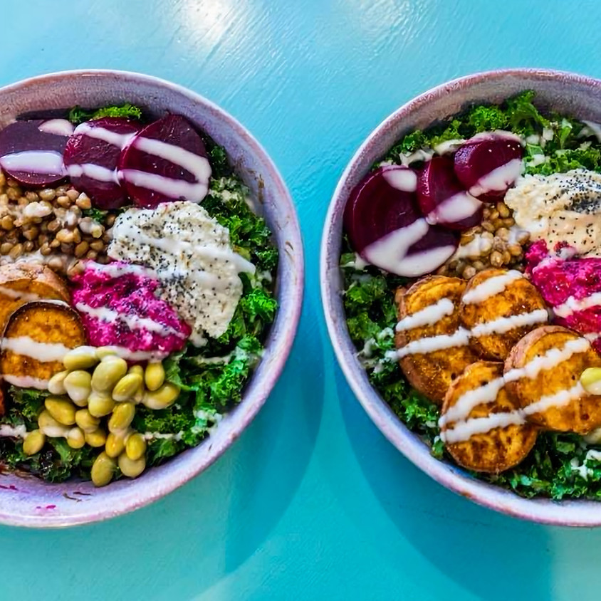 Plant Pod presents Greenhouse Cafe: The Ultimate Buddha Bowl