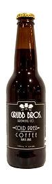 Grubb Bros Cold Brew Coffee Famous Black Label