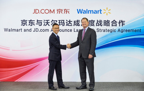 JD.com Teams Up with Walmart in China