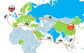 Shipping from China to UK - CNXtrans