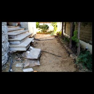שיקום מדרגות - פיתוח אבן