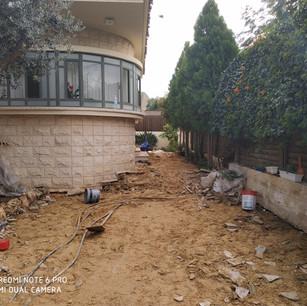 בטון מוחלק בית פרטי בגדרה