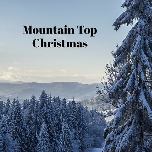 Mountain Top Christmas Jar Candle