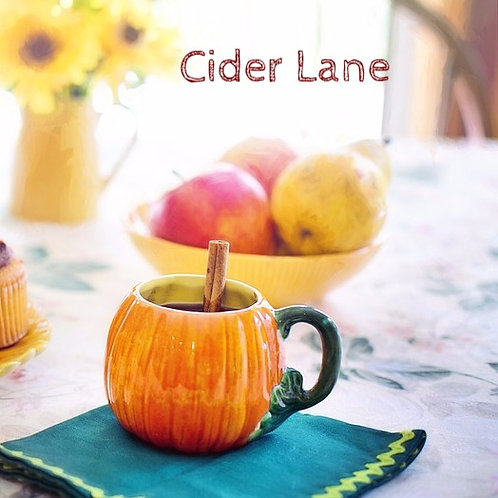 Cider Lane Jar Candle