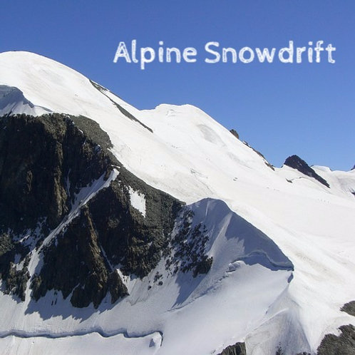 Alpine Snowdrift Jar Candle