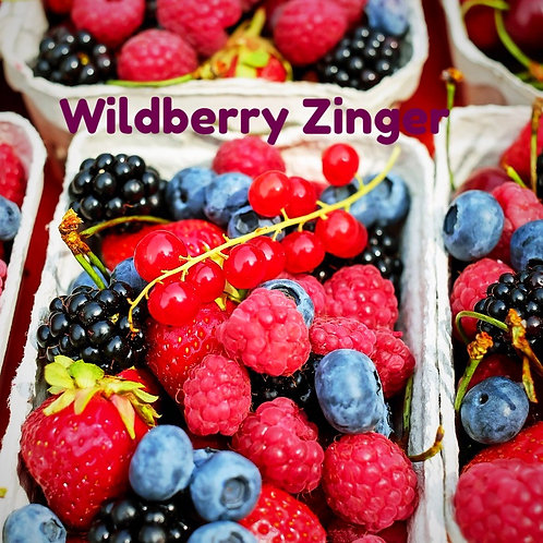 Wildberry Zinger Jar Candle