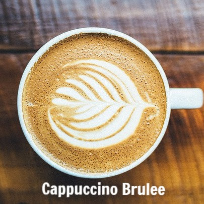 Cappuccino Brulee Jar Candle