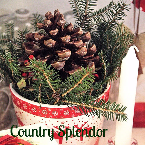 Country Splendor Jar Candle