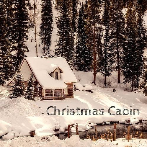 Christmas Cabin Jar Candle
