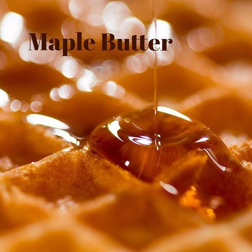 Maple Butter Jar Candle