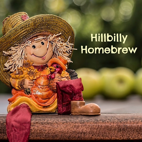 Hillbilly Homebrew Jar Candle