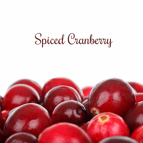 Spiced Cranberry Jar Candle