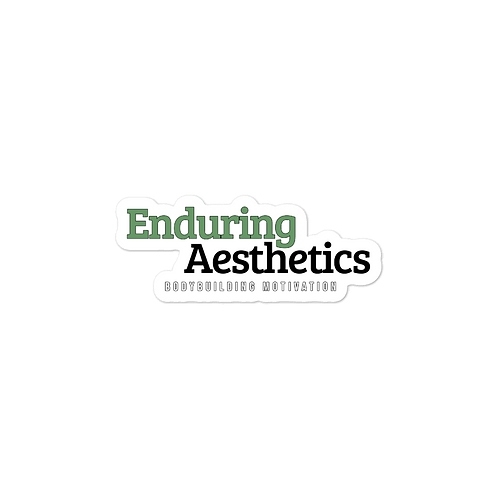 Enduring Aesthetics Sticker