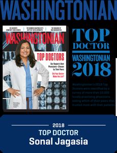 Washingtonian Top Doctor 2018