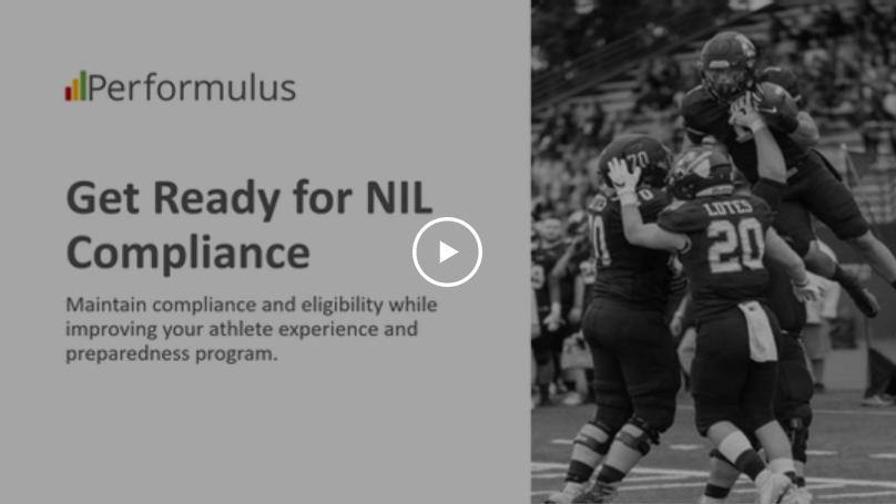 On-demand webinar: NIL compliance solution