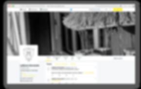 Page Twitter La Maison
