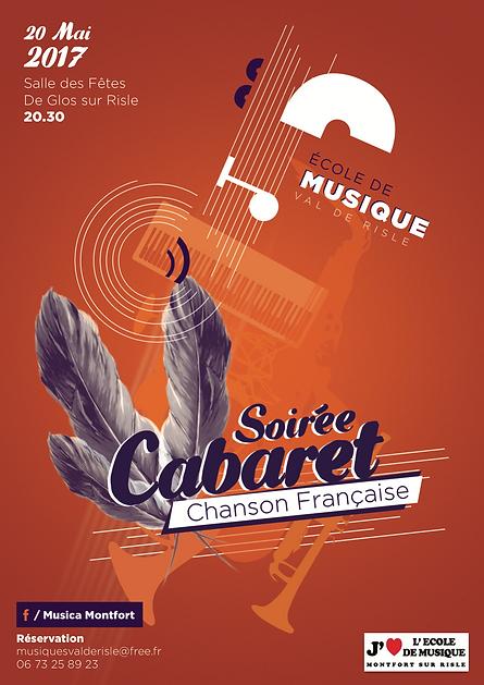 Affiche Ecole de musique Val de Risle