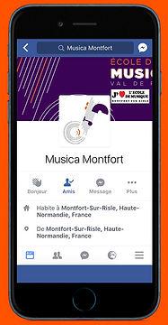 Page Facebook Ecole de musique Val de Risle