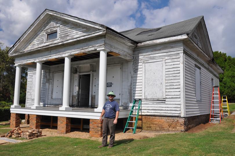 IC Fowler House Pre-Renovation