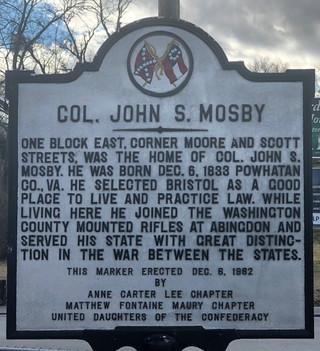 Colonel John S. Mosby