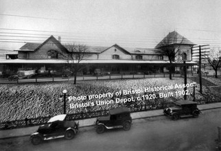 Bristol Train Station (c. 1920)