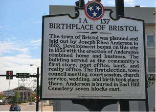 Birthplace of Bristol 1852