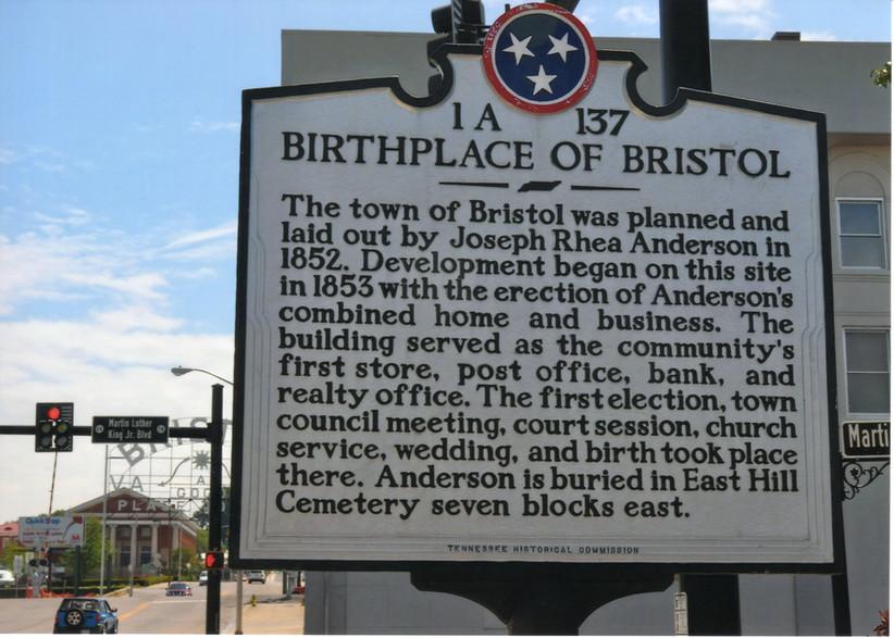 Birthplace Bristol 1852