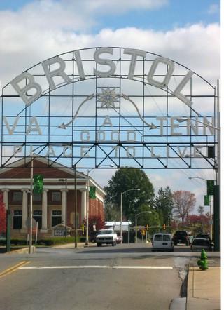 Bristol Sign First Baptist Church
