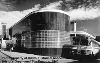 Greyhound Bus Depot (c. 1940)