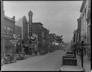 Paramount Theater on Opening Day