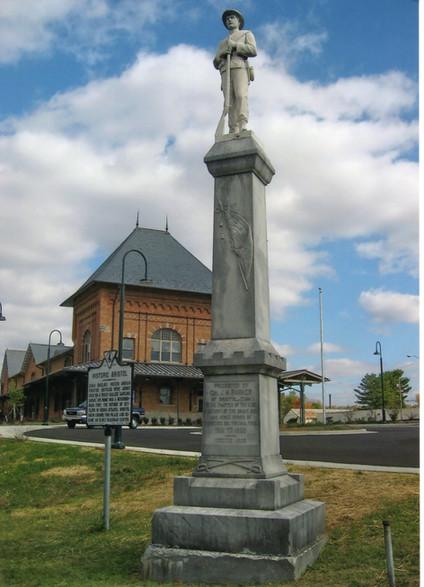 Confederate Statue Train Station