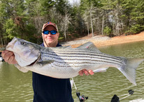 Striper fishing in north georgia