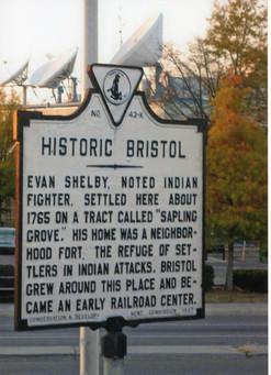 Bristol Historical Marker